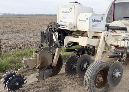 new soil scanner for precision agriculture